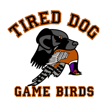 Tired Dog Game Birds: Pheasant Hunting and Dog Training